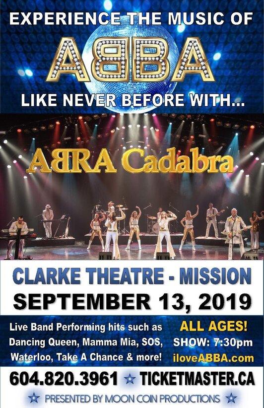 Clarke Theatre33700 Prentis Ave, Mission - Calendar